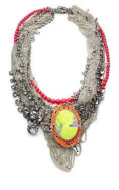 Tom Binns cameo #necklace #jewellery