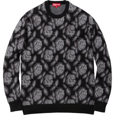 Supreme Rose Sweater in Black...LOVE LOVE LOVE IT!!!!