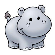 baby hippo clip art hippo More