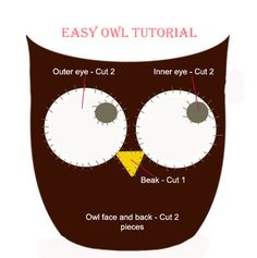 The Crafty Button: Free Owl Pattern