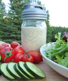 Real Ranch Dressing with Fresh Herbs