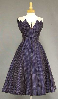 50's cocktail dress