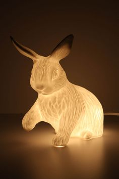 I'm in love - bunny rabbit lamp
