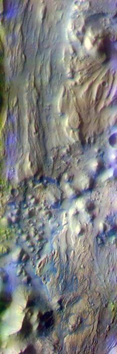 Ares Vallis / Iani Chaos Border on Mars