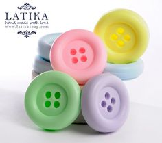 buttons, #pastel