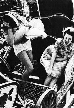 Kurt Hutton ~   Southend Fair ... Southend~on~Sea ~ Essex ~ England ~ 1938 ~