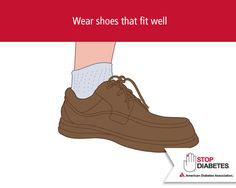 April is Limb Loss Awareness Month. Many people with diabetes have reduced blood flow to the feet and nerve damage, which makes it harder to tell when something is wrong with their feet. These problems make it easy to get ulcers and infections that can lead to amputation. Stop #Diabetes from knocking you off your feet with this important tip!
