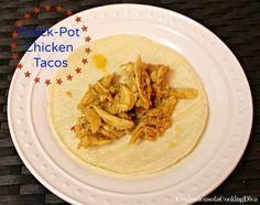 crock pot, chicken tacos, crockpot chicken, easi crockpot