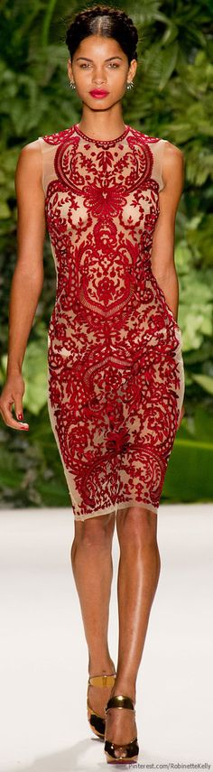GORGEOUS. Naeem Khan | S/S 2014