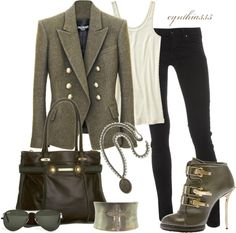 Military, created by cynthia335 on Polyvore