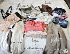 Tips for keeping packing simple. I am a notorious over-packer...I'm no boy scout but I do like to be prepared.