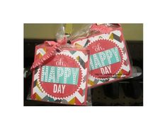 Oh, Happy Day candy gift / treat bags. Stampin Up