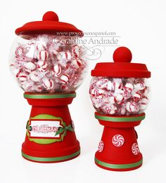 Mafer's Creations: OR CHOCOLATE CANDY DISPENSERS - CANDY JAR