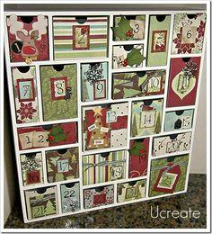Beautiful family advent calendar
