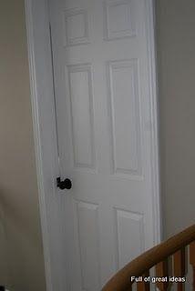paint doorknob, door knob, paint handl, spray painting