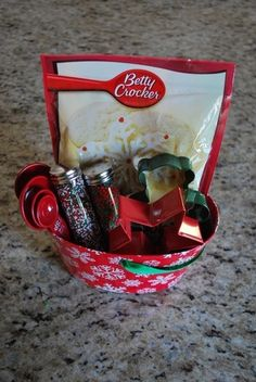 Neighbor gift basket
