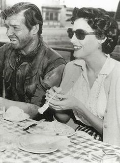 'He was my hero when I was a kid. He was still my hero when we made our first movie together, and until the day he died.'  Ava on Clark Gable