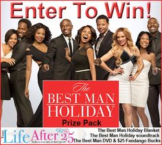 Enter To Win a @TheBestManMovie Prize Pack! #TheBestManHoliday