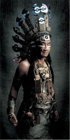 Steampunk Native American.
