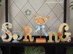 easter, crafti crazi, wood letters, primit woodcraft, wooden letters, holiday stuff, holiday craft, spring, diy kit