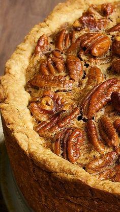 Deep-Dish Pecan Pie