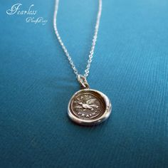 Fearless  Victorian Whimsy Eagle Wax Seal by PlumAndPoseyInc, $39.00