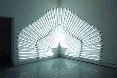 light installations by artist yochai matos