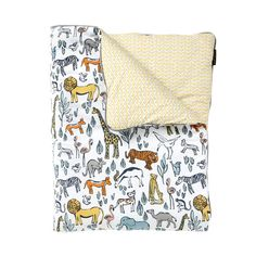 Safari Play Blanket | Our soft play blankets are perfect anywhere - from the playroom floor to a toddler bed.