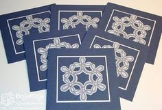 christmas... love the idea of blue and white for chanukah cards w. 'star'