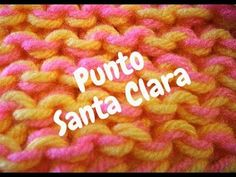 Punto en Tejido Telar - Santa Clara / Puntada Musgo en Telar