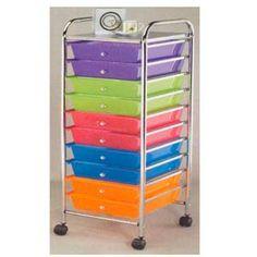 Want. Rainbow Color of Plastic Drawers 2816(PJFS16)