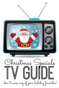 Christmas Specials TV Guide - Get your DVRs ready - and don't miss a single holiday special this season! Download this handy spreadsheet listing every single holiday special, the channel and the date/time that it's on.