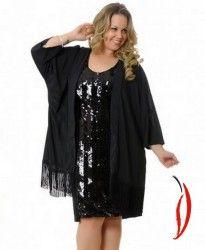 Loja Virtual Plus Size www.tamanhosespeciais.com.br Kimono Crepe Chiffon Franjas  Xica Vaidosa GG Plus+ 50 52 54 56