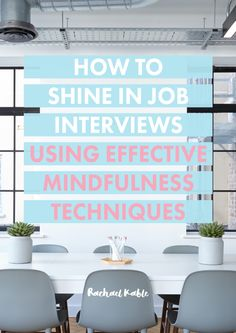 How to Shine in Job