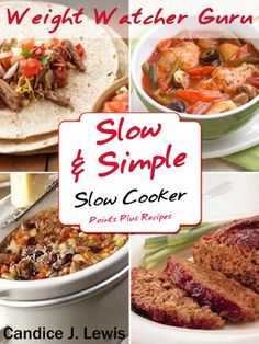Free Kindle Book For A Limited Time : Weight Watcher Guru Slow and Simple Slow Cooker Points Plus Recipes (Weight Watcher Guru Series) - This book really has it all! So throw your dinner woes out the door and start making delicious meals with this awesome crock pot cookbook!Tired of picking up fast food, nuking microwavable dinners or ordering take-out but you don't want to slave in the kitchen for hours cooking either?The solution for You is slow cooking (aka crock pot cooking) !Think about ...
