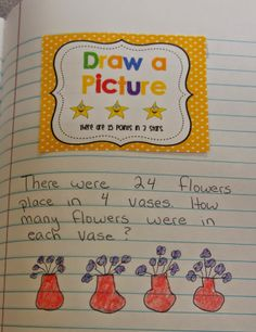 Add multiple representations to students interactive notebooks!