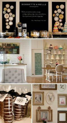 chair, cookie packaging, pastry shop, cake shop, shop displays, bakeri, chalkboard paint, plate, pastri