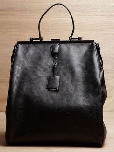 Jil Sander Black Bag