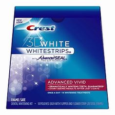 Crest White Strips. Aside from some minor sensitivity at first, they work really good