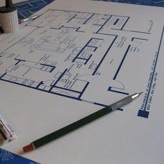 Just for fun: Mad Men NYC Don Draper Apartment blueprint via Fab.com
