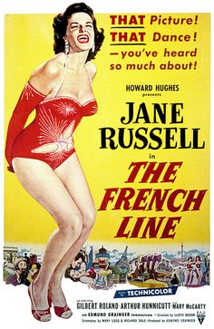 Howard Hughes presents Jane Russell in The French Line (1953)