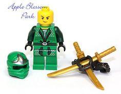 FREE SHIPPING! Lego Ninjago GREEN NINJA MINIFIG - Lloyd ZX Minifigure -9450- NEW   eBay
