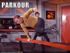 Kirk Parkour