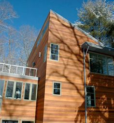 Siding On Pinterest Wood Cabins Modern Exterior And Stone Veneer