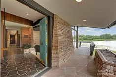 1961 Mid Century porch - time capsule house in Minnesota