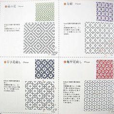 Японское искусство вышивки сашико и гладь (фото)