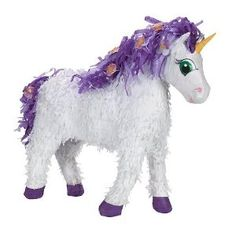 No unicorn party is complete without a unicorn pinata.