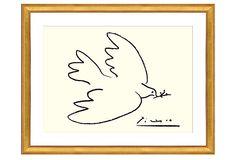 Picasso, Dove of Peace (serigraph) on OneKingsLane.com  $149 22x28x1