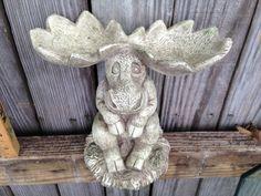 Moose Statue  Moose Art  Whimsical Home Decor  by EightBoardsFarm, $25.00