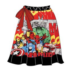AVENGERS fluffy skirt by allyolilo on Etsy
